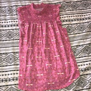 Tops - Pink tank size S